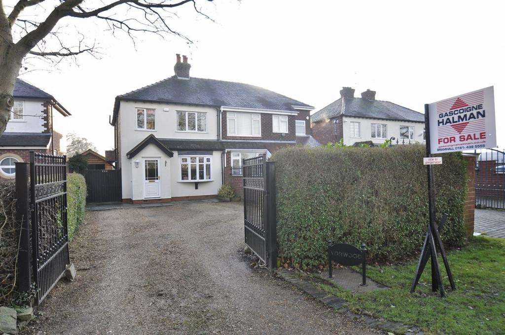 3 Bedrooms Semi Detached House for sale in Church Lane, Woodford,