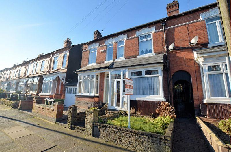 3 Bedrooms Terraced House for sale in Park Road, Bearwood