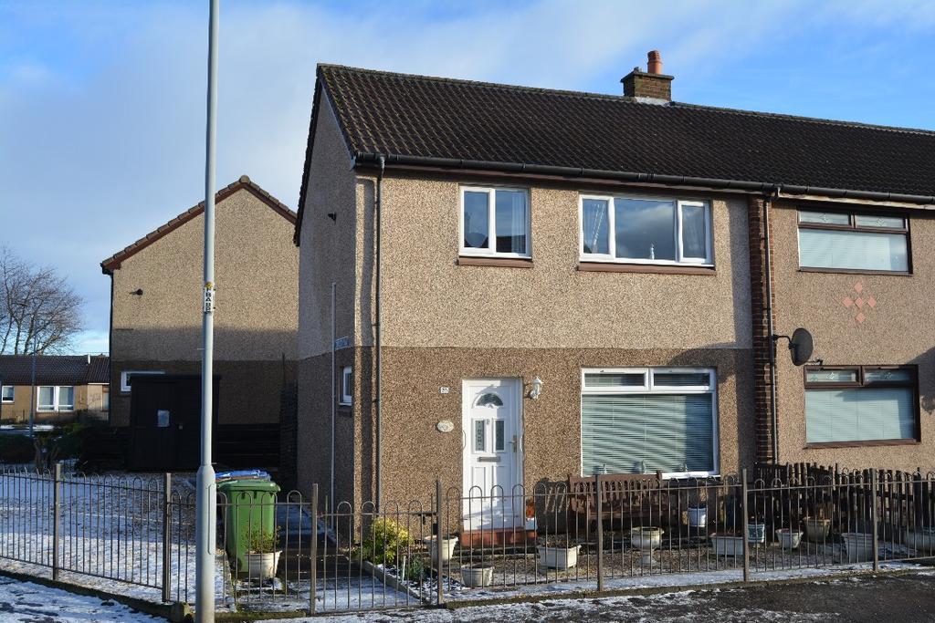 3 Bedrooms End Of Terrace House for sale in Webster Avenue, Carronshore, Falkirk, FK2 8BA