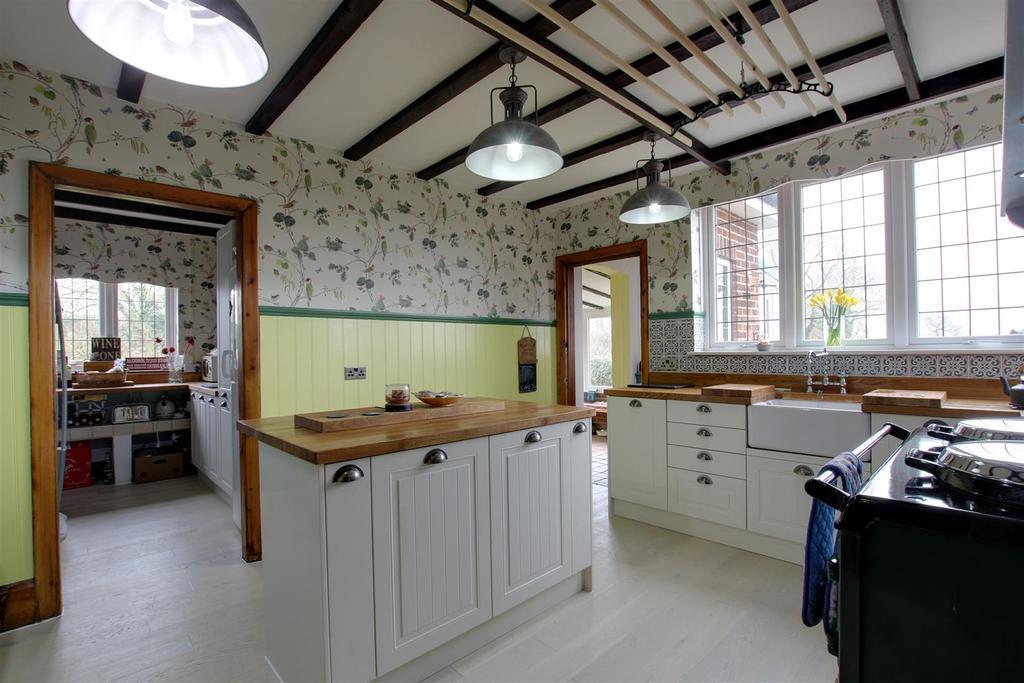 4 Bedrooms Detached House for sale in Wickmoor, Sutton Road, Bilsby