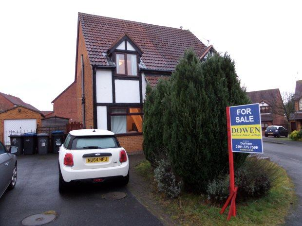 2 Bedrooms Semi Detached House for sale in HADLIEGH COURT, COXHOE, DURHAM CITY : VILLAGES EAST OF