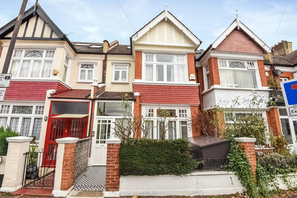 5 Bedrooms Terraced House for sale in Ryfold Road, Wimbledon Park, SW19
