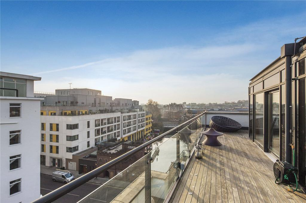 4 Bedrooms Penthouse Flat for sale in Oval Road, London, NW1
