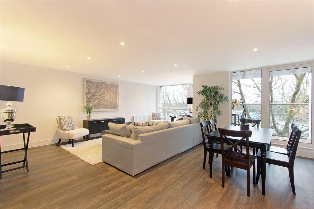2 Bedrooms Flat for sale in Rope Street, Surrey Quays, London, SE16
