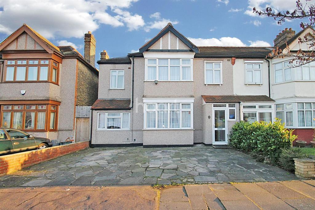 4 Bedrooms Semi Detached House for sale in St Edmunds Road, Gants Hill, Ilford, Essex