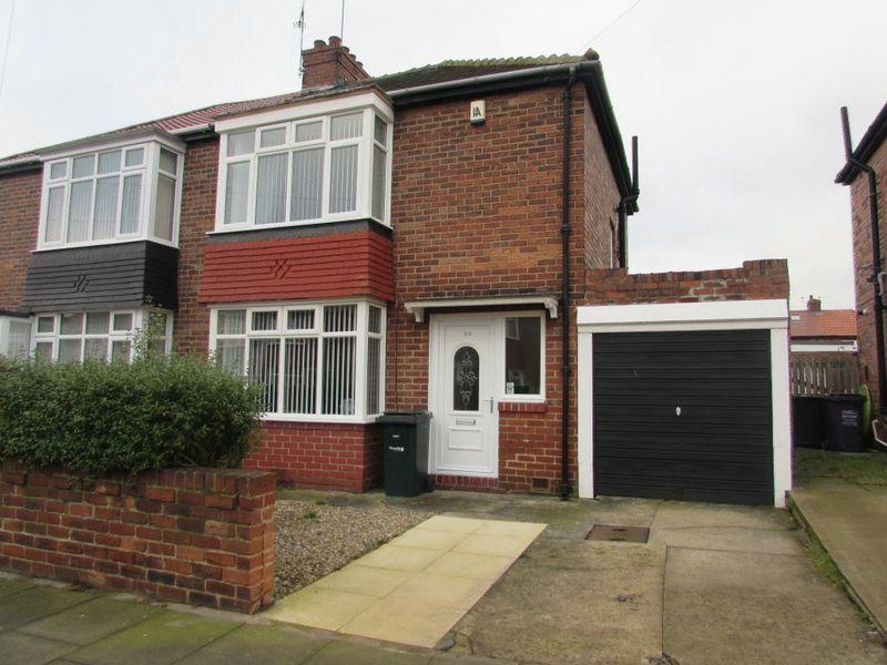 2 Bedrooms Semi Detached House for sale in Westbourne Avenue, Newcastle Upon Tyne - Two Bedroom Semi Detached House