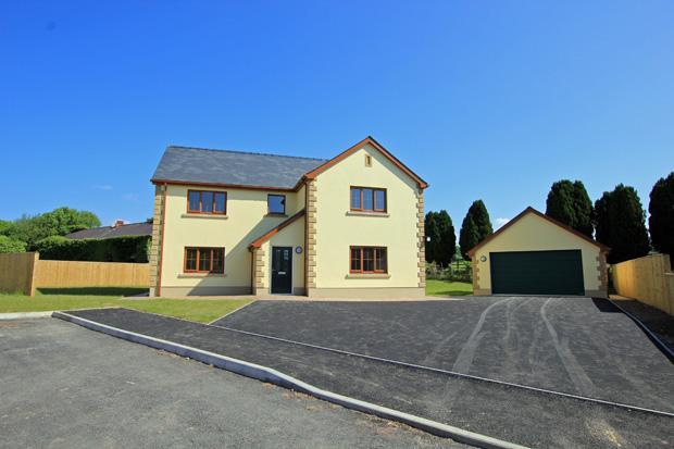 4 Bedrooms Detached House for sale in Plot 3 Glancothi Mansion, Allt Y Ferin Road, Pontargothi, Carmarthen, Carmarthenshire