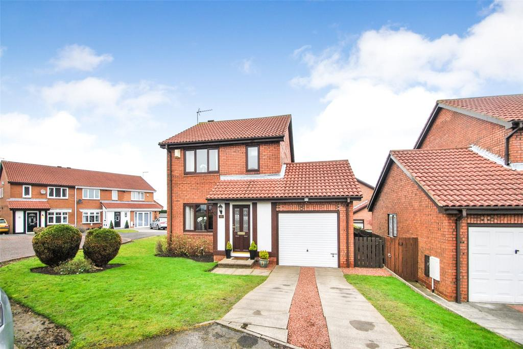 3 Bedrooms Detached House for sale in Brixham Close, Dalton Grange, Seaham, Co. Durham, SR7