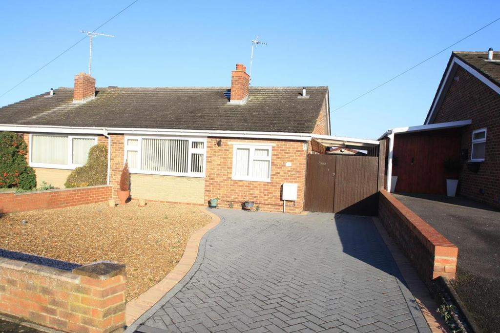 2 Bedrooms Semi Detached Bungalow for sale in Berry Way, Newton Longville, Milton Keynes
