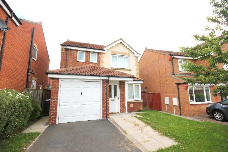 3 Bedrooms Detached House for sale in Armstrong Drive, Willington