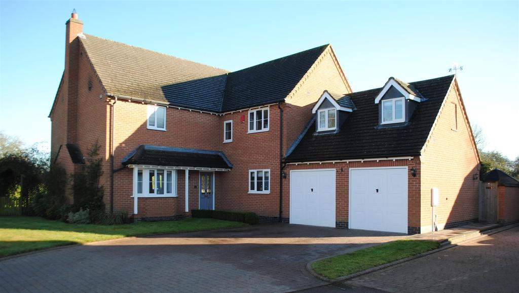 4 Bedrooms Detached House for sale in Brooksby Road, Hoby
