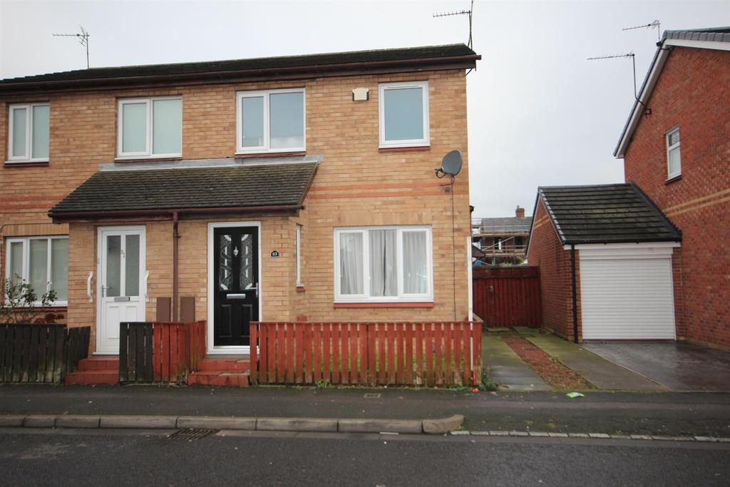 2 Bedrooms Semi Detached House for sale in Murray Street, Hartlepool