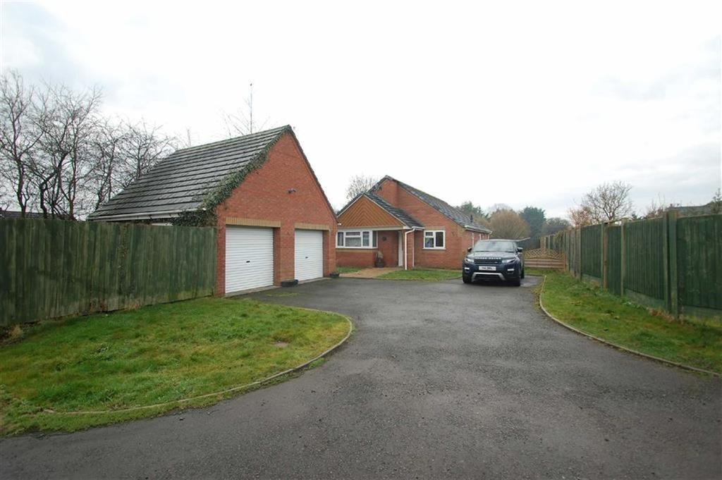 3 Bedrooms Detached Bungalow for sale in Comet Drive, Shrewsbury