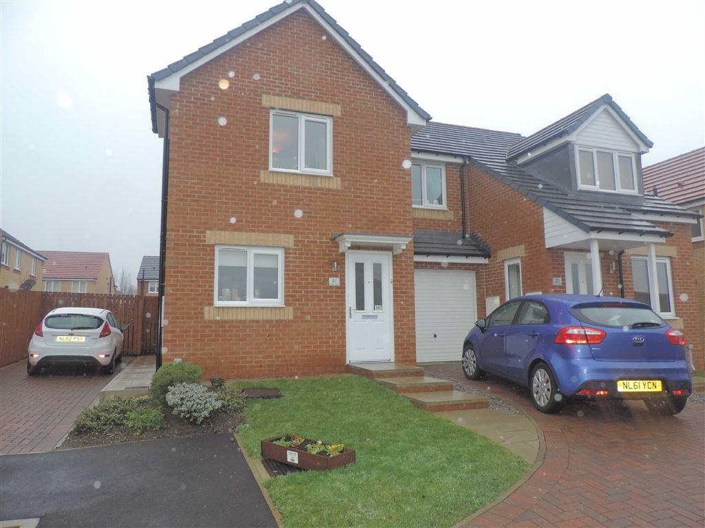 2 Bedrooms Semi Detached House for sale in Viscount Close, Stanley, County Durham