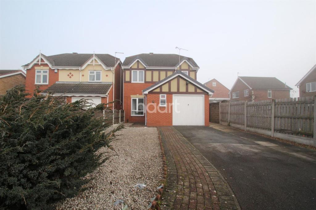 3 Bedrooms Detached House for sale in Salcombe Close, Newthorpe