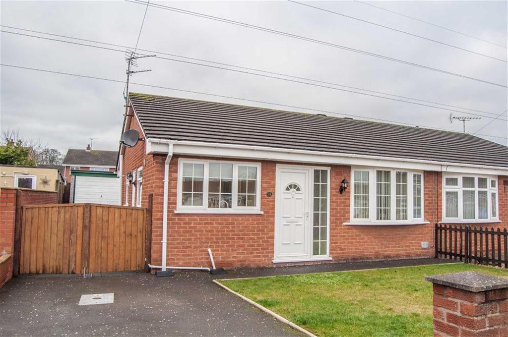 2 Bedrooms Semi Detached Bungalow for sale in Ffordd Ffynnon, Hawarden, Flintshire, Hawarden, Flintshire
