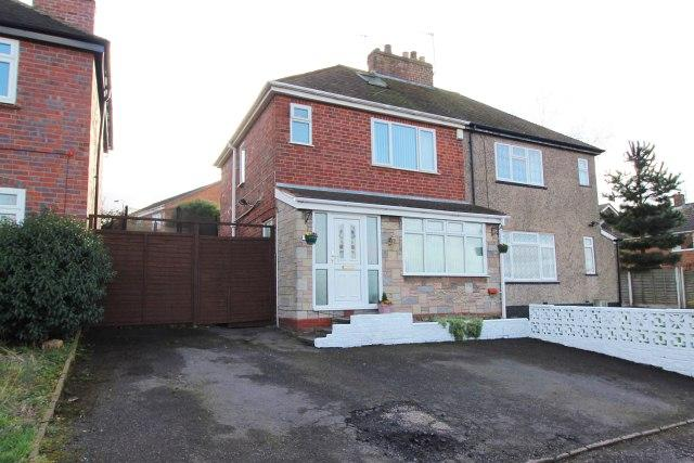 3 Bedrooms Semi Detached House for sale in Queen Street,Cheslyn Hay,Staffordshire