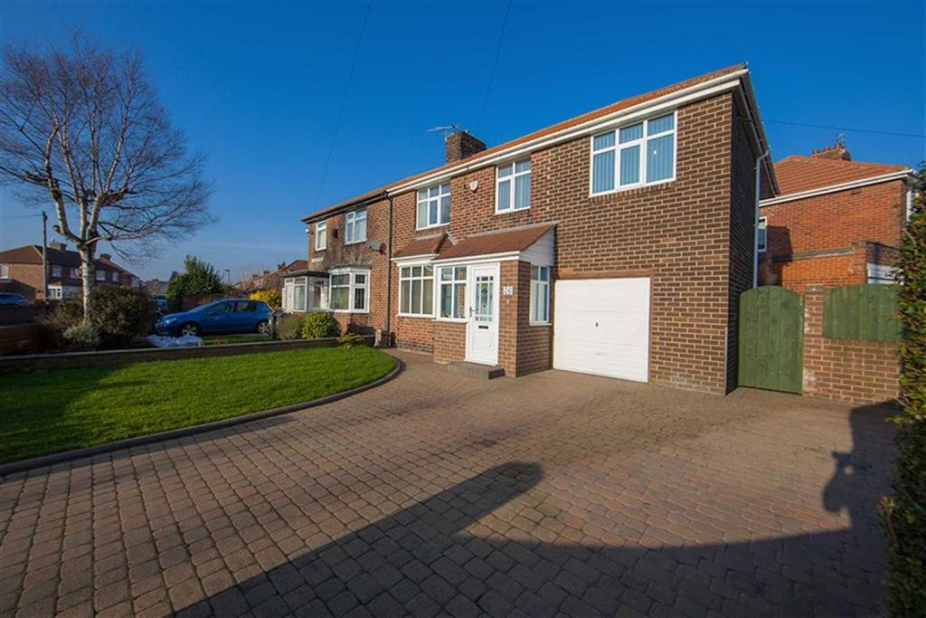 5 Bedrooms Semi Detached House for sale in Kings Road North, Kings Estate, Wallsend, NE28