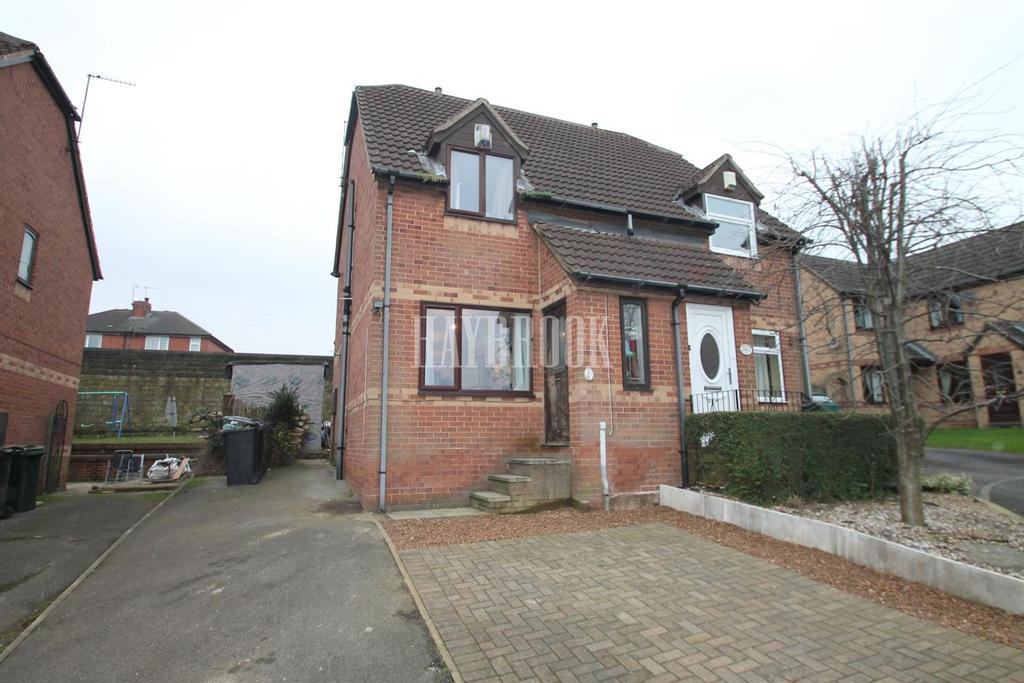 2 Bedrooms Semi Detached House for sale in Brookfield Close, Dalton