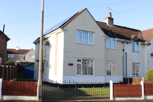 3 Bedrooms Semi Detached House for sale in The Crescent, Langwith Junction, Mansfield, NG20