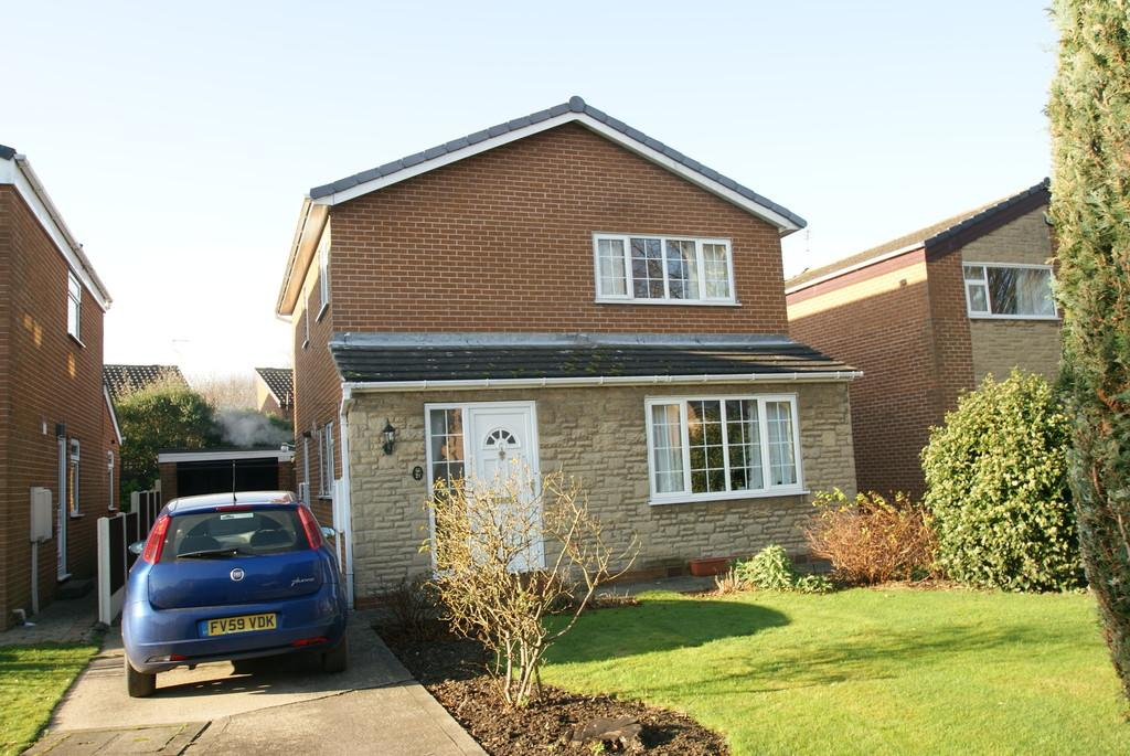 3 Bedrooms Detached House for sale in Herril Ings, Tickhill