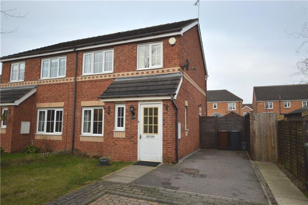 3 Bedrooms Semi Detached House for sale in Parsley Mews, Methley, Leeds, West Yorkshire