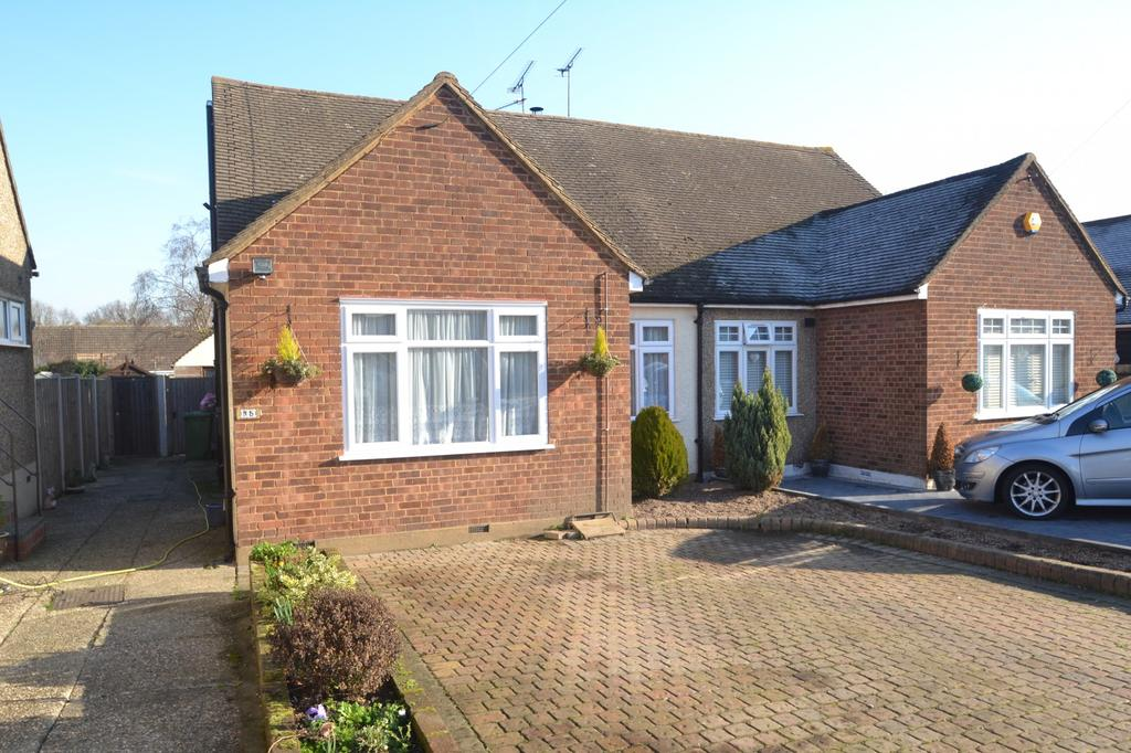 3 Bedrooms Semi Detached Bungalow for sale in Kevin Close, Great Burstead, Billericay, Essex, CM11