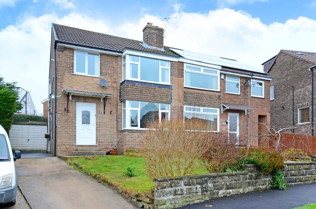 3 Bedrooms Semi Detached House for sale in Winchester Crescent, Fulwood
