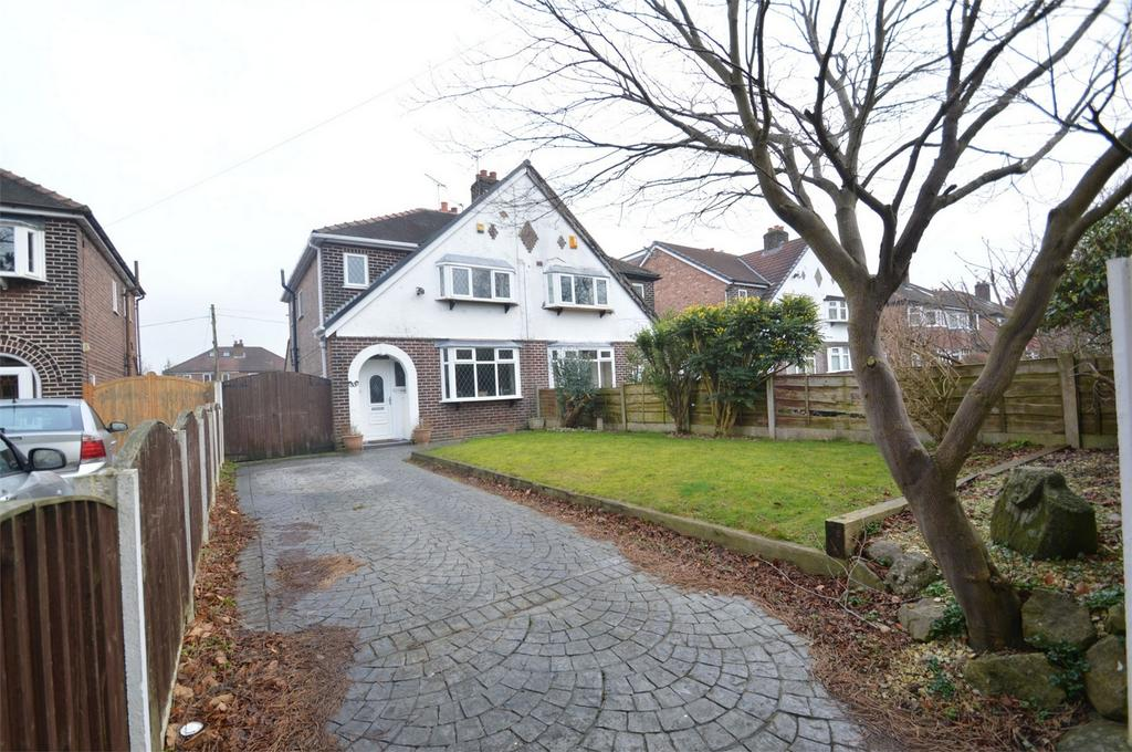 3 Bedrooms Semi Detached House for sale in Manor Avenue, SALE, Cheshire