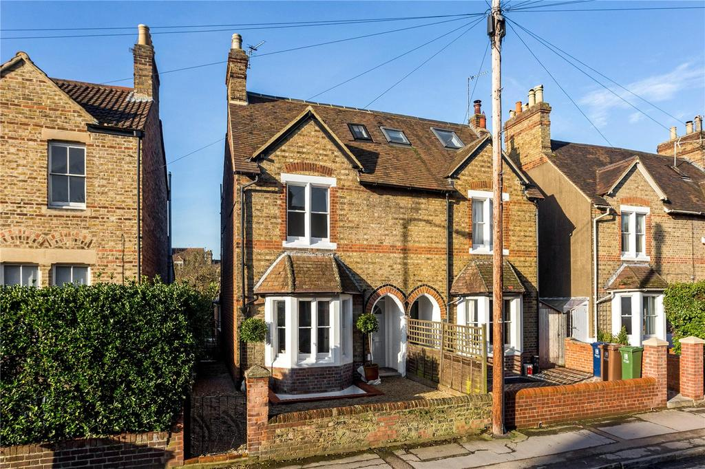 4 Bedrooms Semi Detached House for sale in Kingston Road, Oxford, OX2