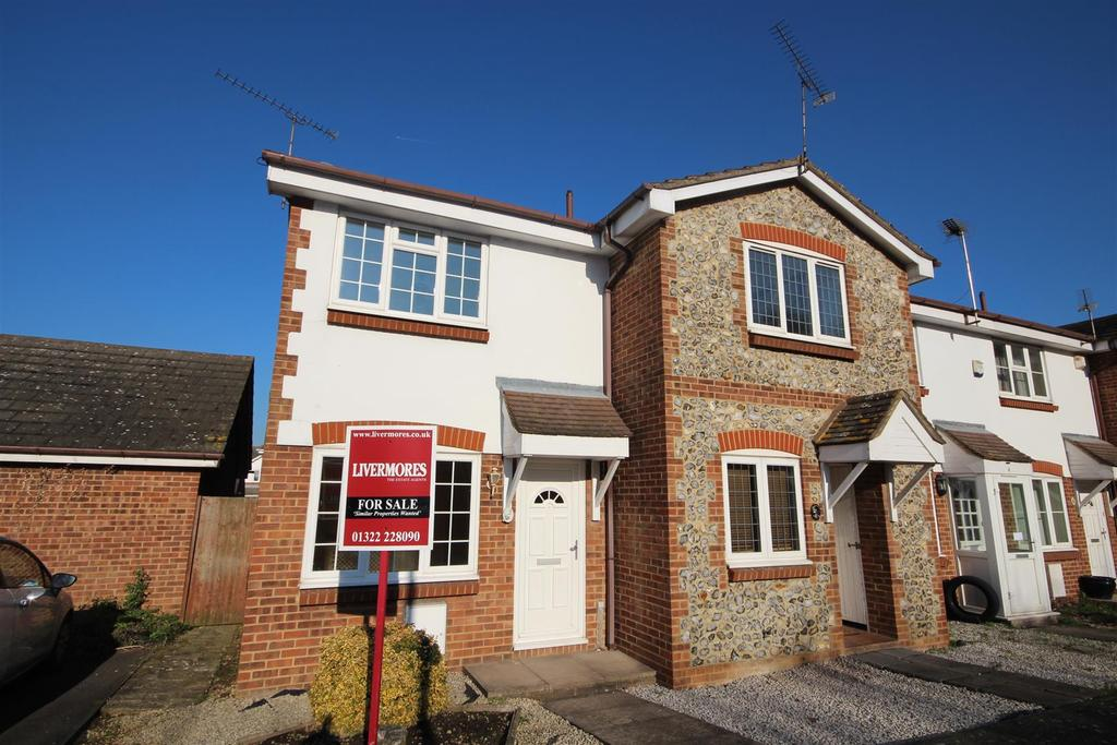 2 Bedrooms End Of Terrace House for sale in Fiddlers Close, Greenhithe, DA9