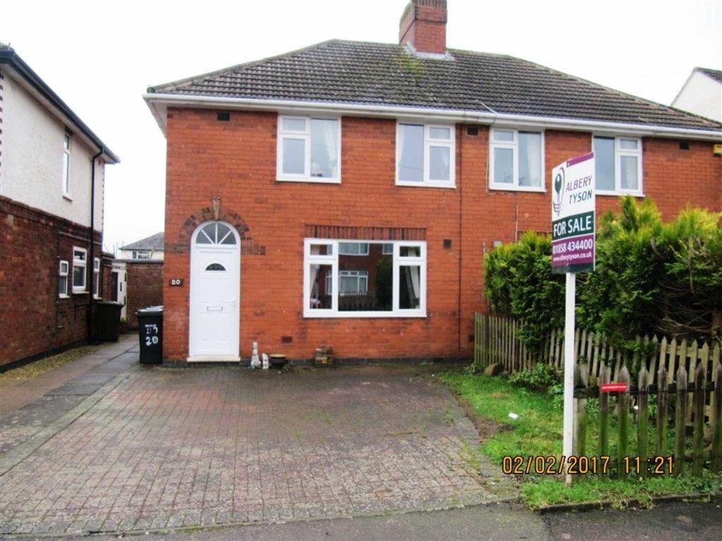 3 Bedrooms Semi Detached House for sale in Swift Way, Lutterworth, Leicestershire