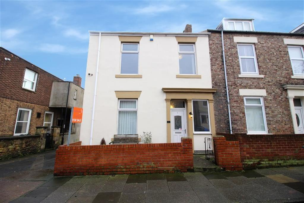 4 Bedrooms End Of Terrace House for sale in William Street West, North Shields