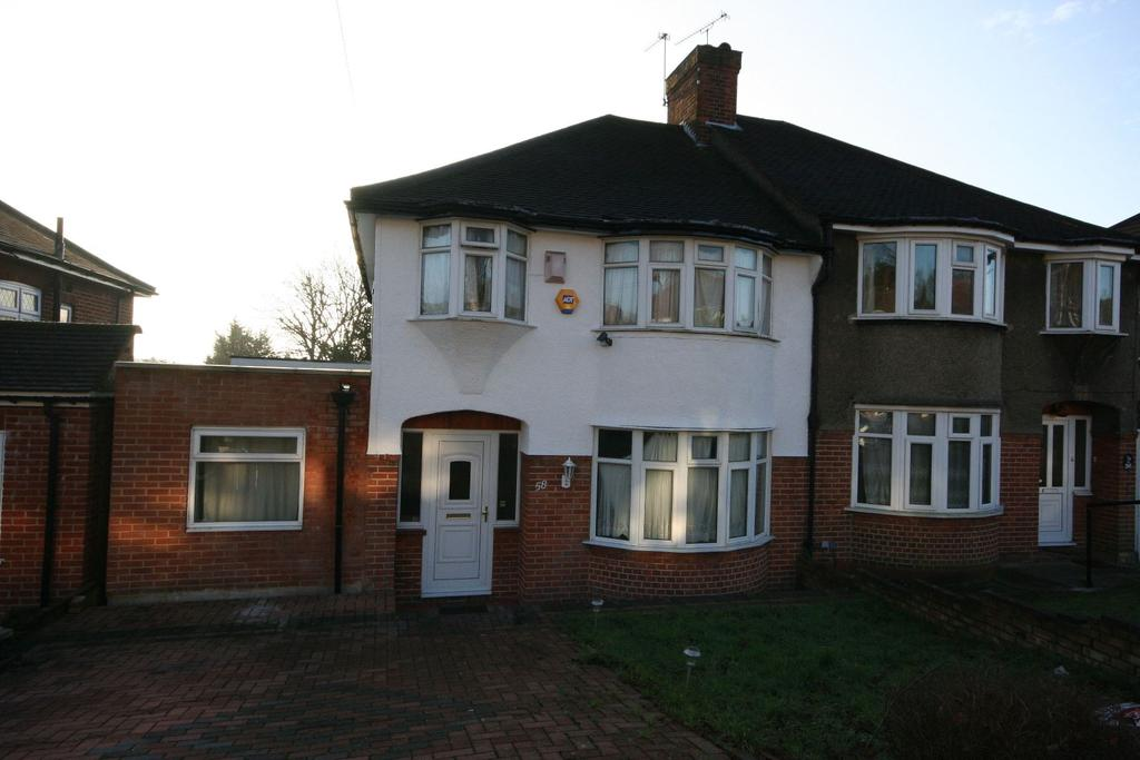 4 Bedrooms Semi Detached House for sale in Basing Hill, Wembley Park HA9