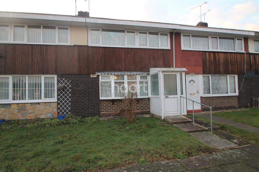 3 Bedrooms Terraced House for sale in Woolmer Green, Basildon