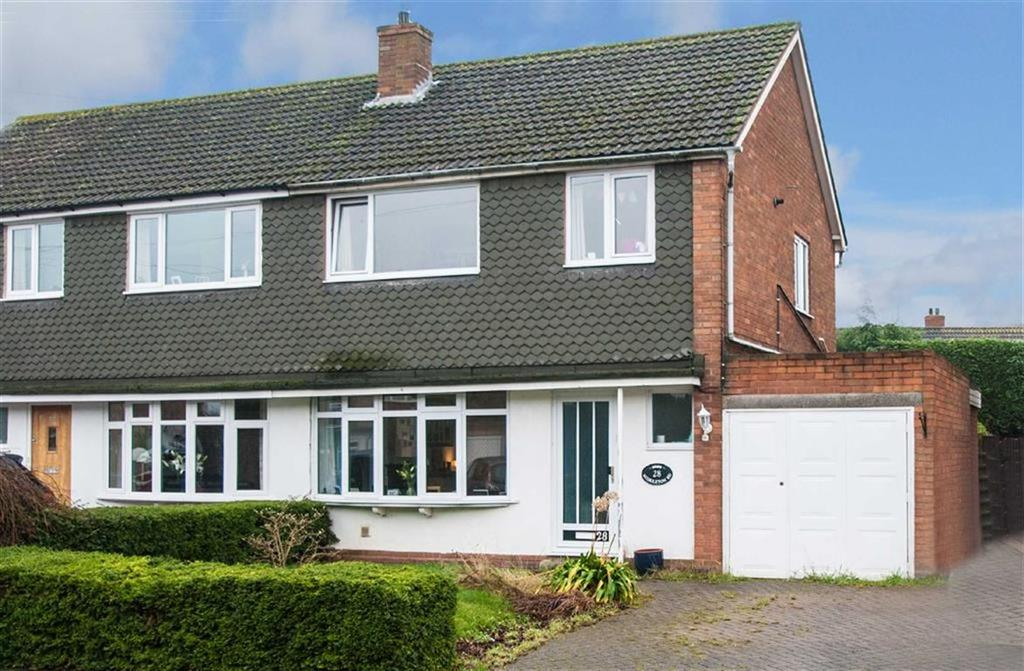 3 Bedrooms Semi Detached House for sale in Middleton Road, Whittington, Staffordshire