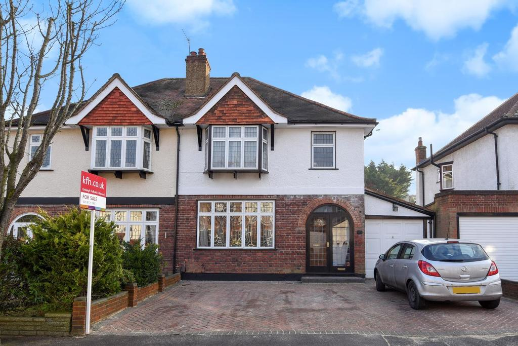 3 Bedrooms Semi Detached House for sale in Midholm Road, Croydon, CR0