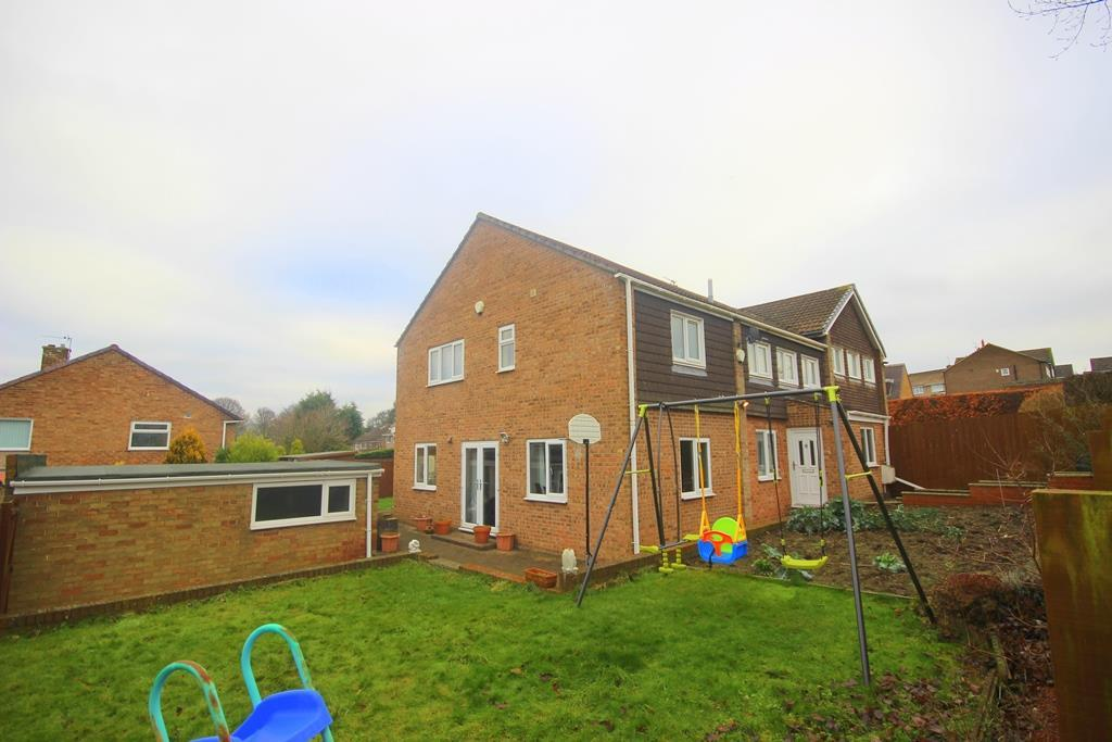 5 Bedrooms Semi Detached House for sale in Strathmore, Great Lumley, Chester Le Street