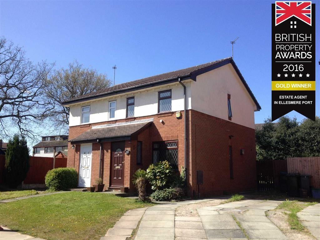 2 Bedrooms Semi Detached House for sale in Ann Close, Little Sutton, CH66