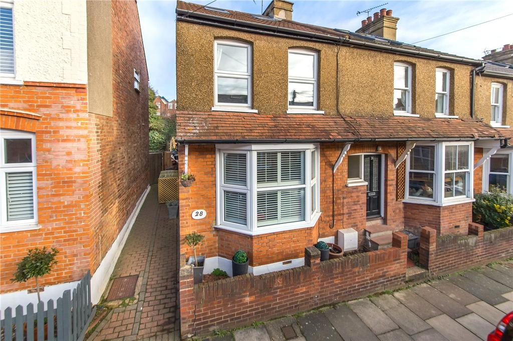 3 Bedrooms End Of Terrace House for sale in Hart Road, St. Albans, Hertfordshire