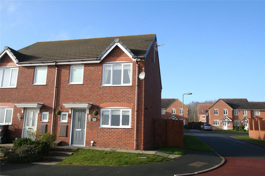 3 Bedrooms Semi Detached House for sale in Charles Street, Brymbo, Wrexham, LL11