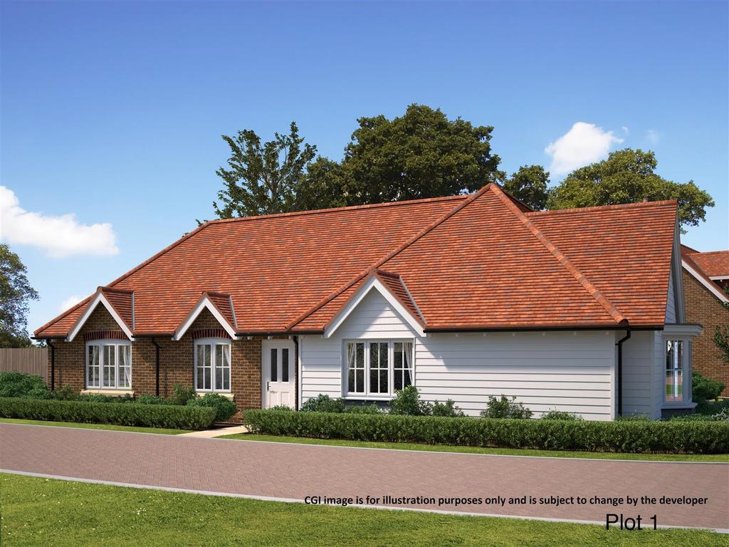 2 Bedrooms Bungalow for sale in GODFREY MEADOW, Hollingboune, Maidstone