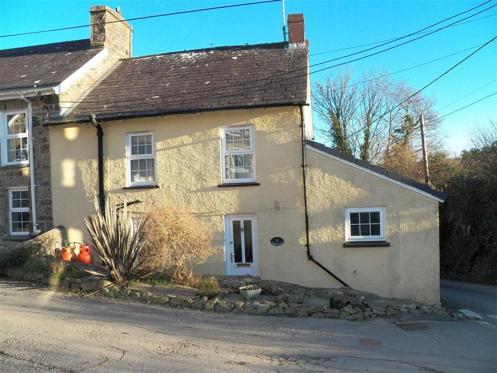 2 Bedrooms End Of Terrace House for sale in Sunny Hill, Llanarth, Ceredigion