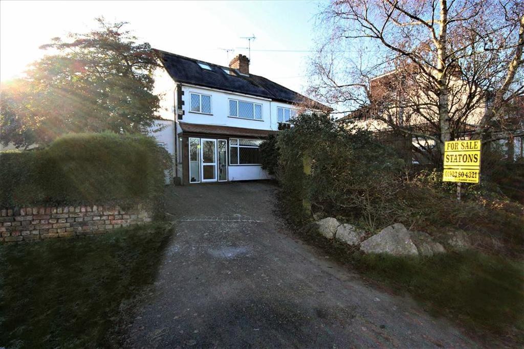 4 Bedrooms Semi Detached House for sale in Hilfield Lane, Aldenham