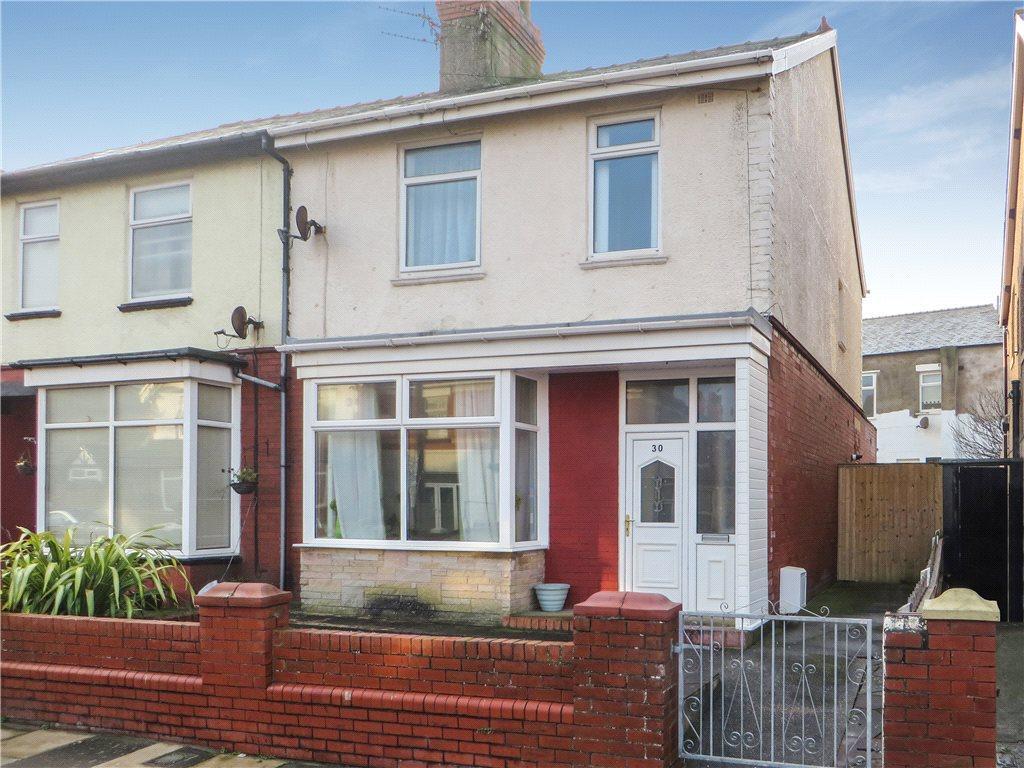 3 Bedrooms Semi Detached House for sale in Edenvale Avenue, Bispham, Blackpool