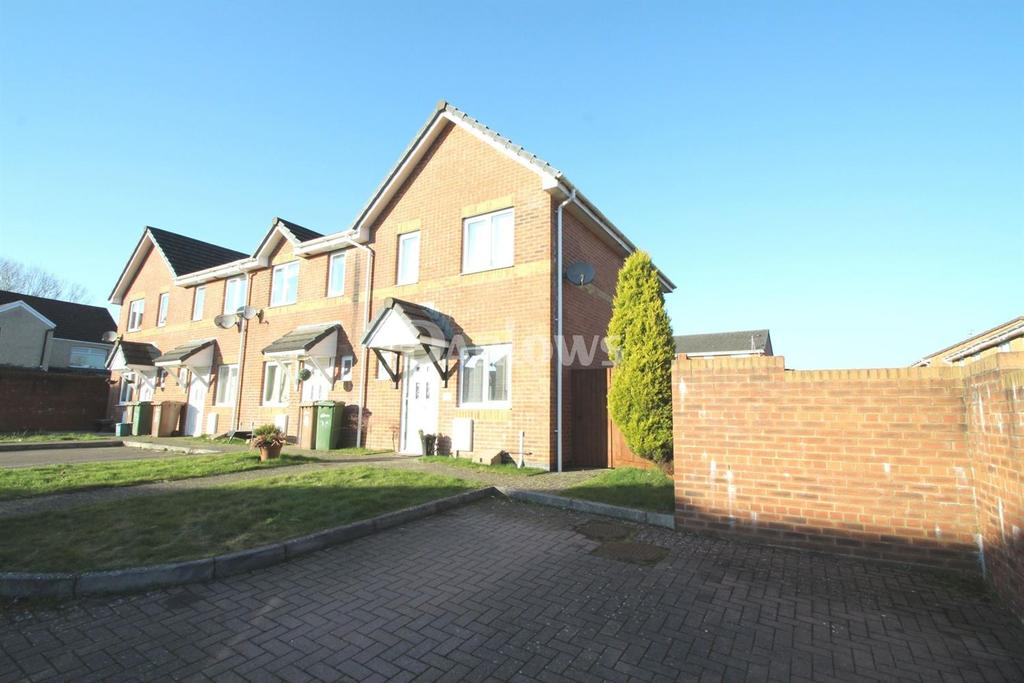 2 Bedrooms End Of Terrace House for sale in Acorn Lane, Glyngaer, Gelligaer