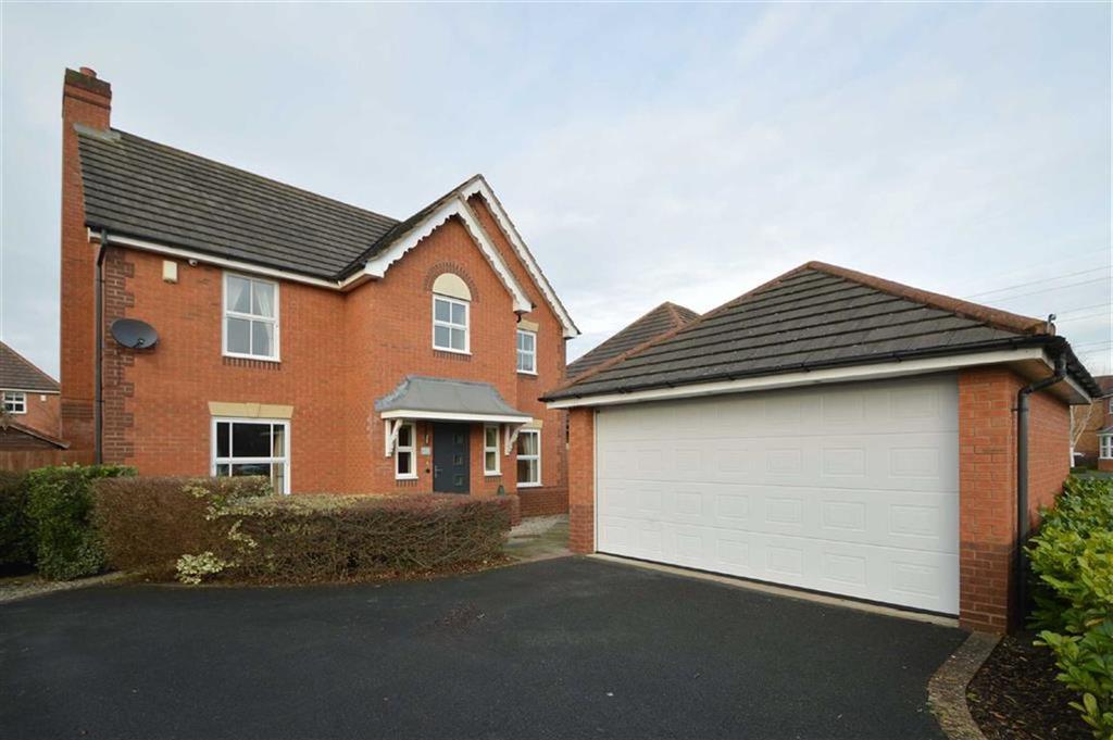 4 Bedrooms Detached House for sale in Latchford Lane, Berwick Grange, Shrewsbury