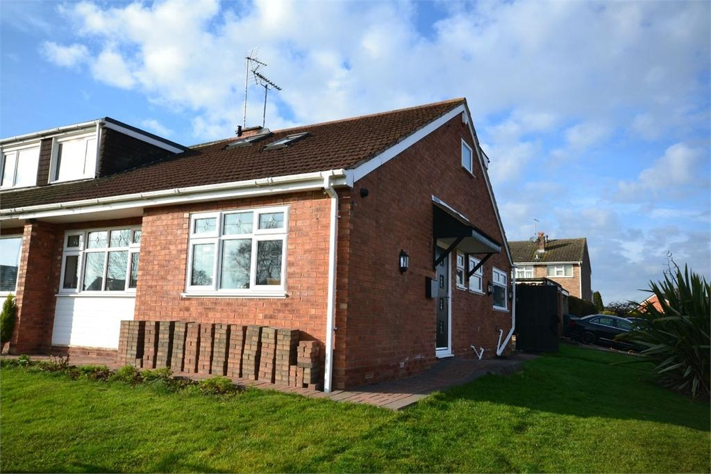 3 Bedrooms Semi Detached Bungalow for sale in Peveril Drive, Styvechale Grange, COVENTRY, West Midlands