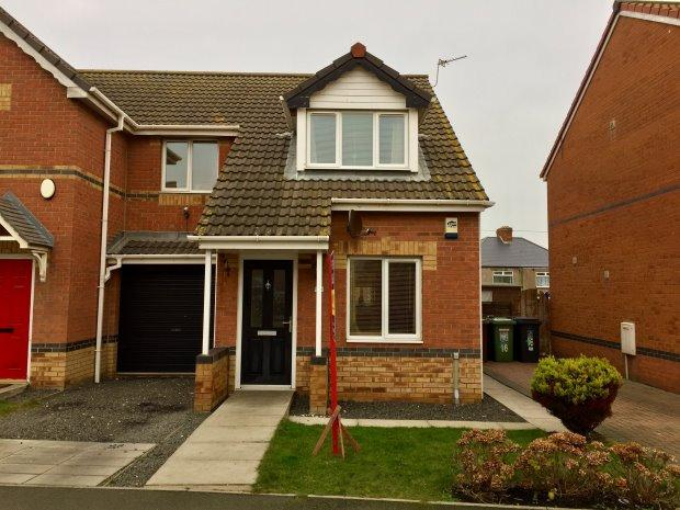 3 Bedrooms Semi Detached House for sale in WINSTON COURT, HEADLAND, HARTLEPOOL