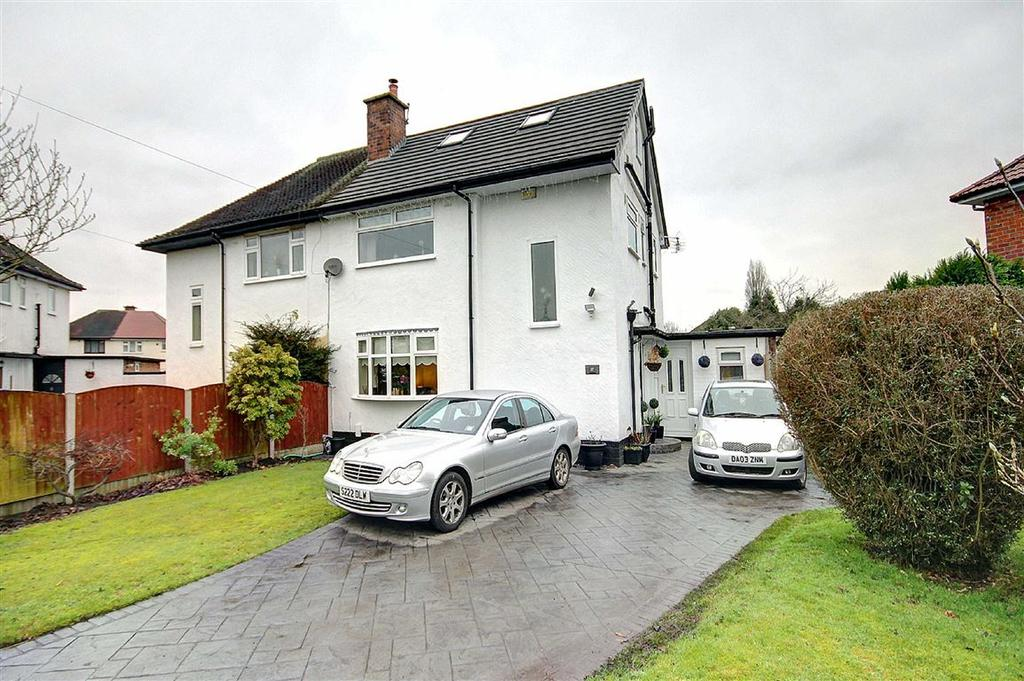 4 Bedrooms Semi Detached House for sale in Grange Avenue, Timperley, Cheshire